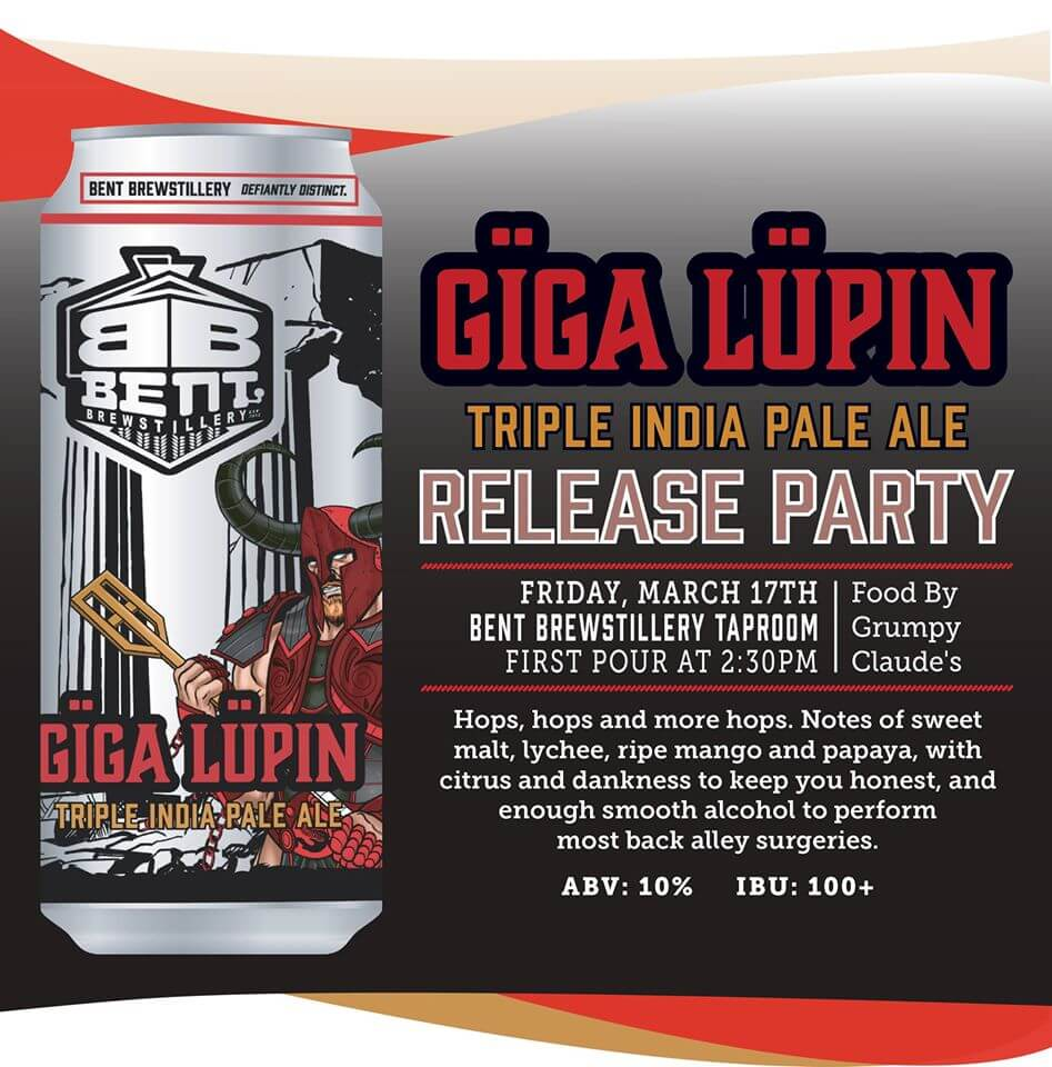 Giga Release Party | Bent Brewstillery