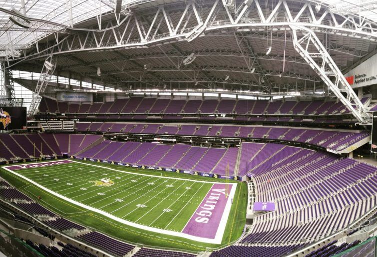 US Bank Stadium Minnesota Vikings Minneapolis, MN