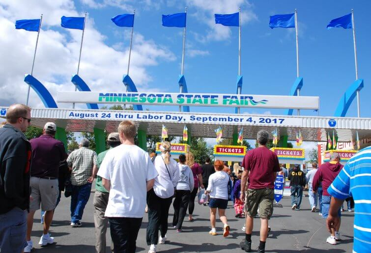 Minnesota State Fair 2017 Gate