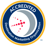 Destination Marketing Organization Accredited Logo
