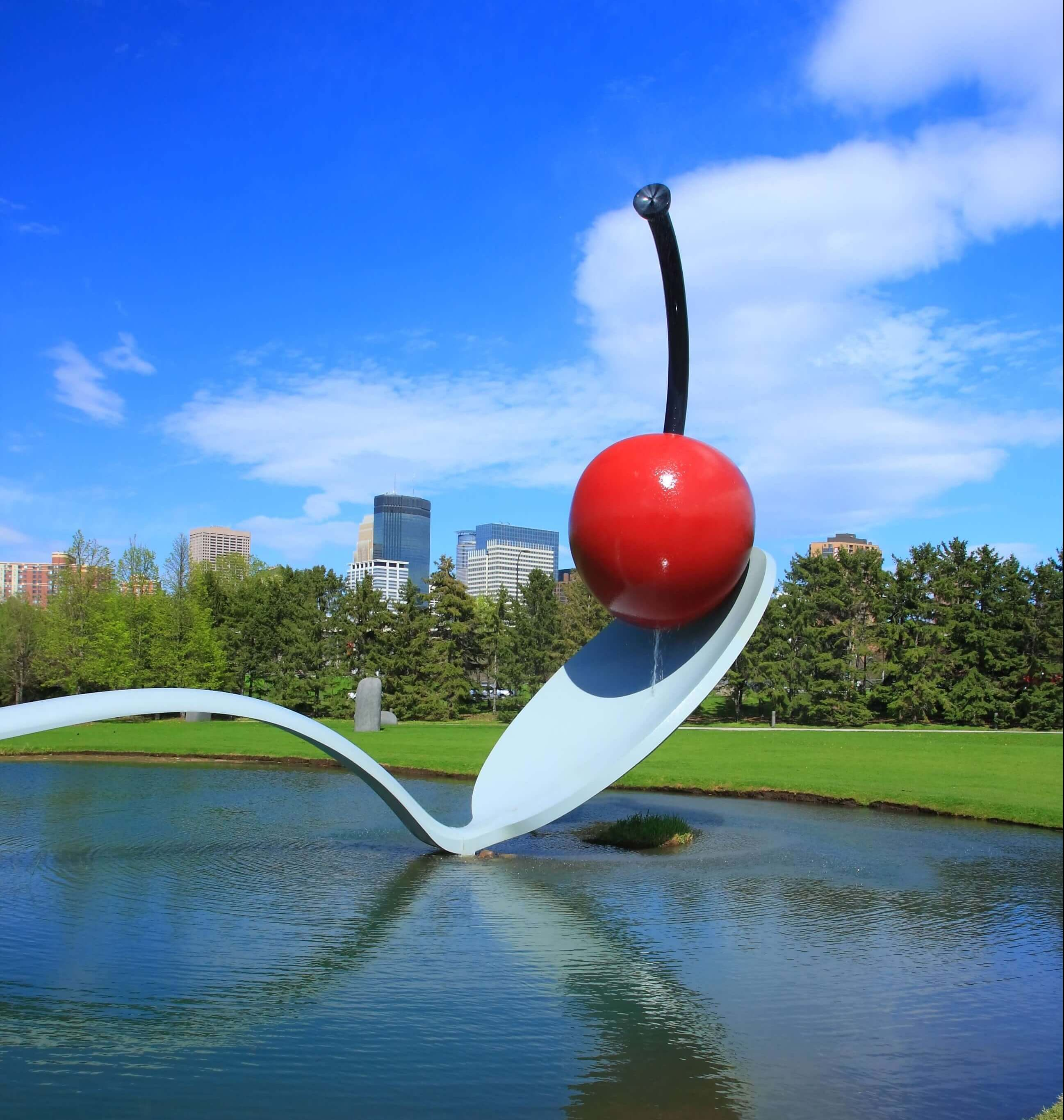 Minneapolis Sculpture Garden Cherry and the Spoon