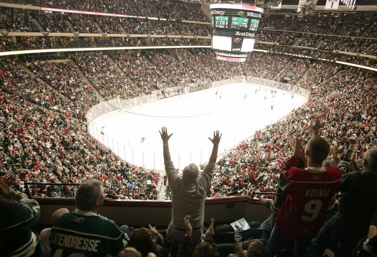 Minnesota Wild Xcel Energy Center Saint Paul, MN