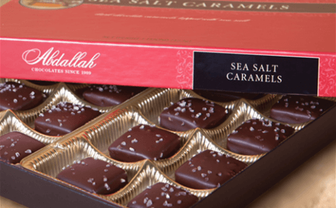 Abdallah Sea Salt Chocolate Caramels