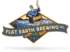Flat Earth Brewing Company Logo