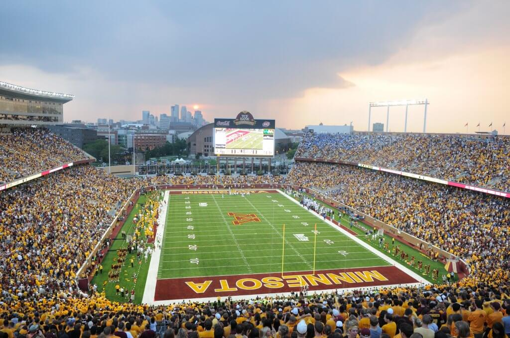 Minnesota Gophers Football TCF Bank Stadium University of Minnesota Minneapolis, MN