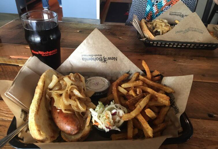 New Bohemia Sausage Combo Meal Roseville, MN