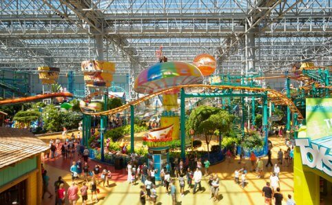 Nickelodeon Universe Mall of America Minnesota