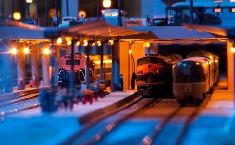 Twin City Model Railroad Museum Night Trains Saint Paul, MN