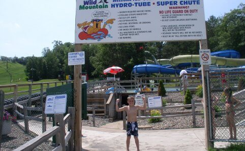 Wild Mountain water park