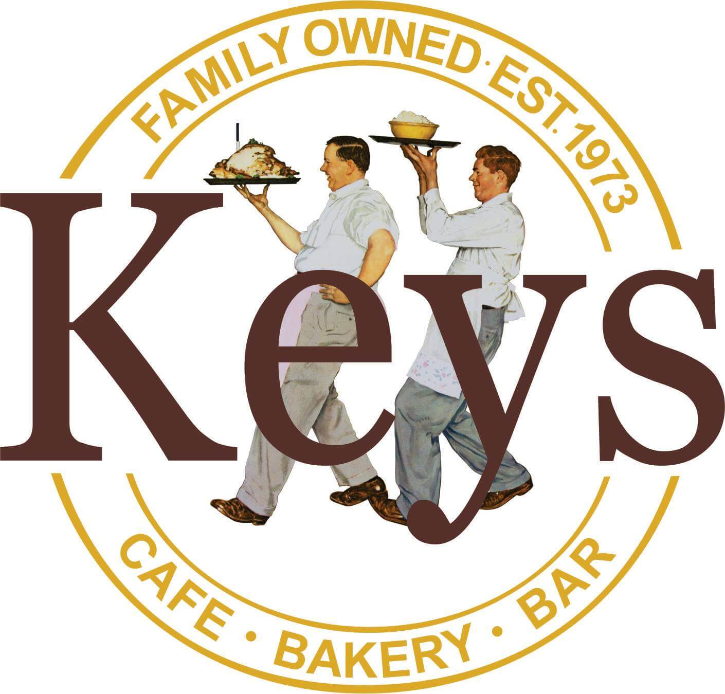Keys Cafe & Bakery Logo