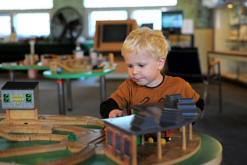 Minnesota Transportation Museum Playing with Trains