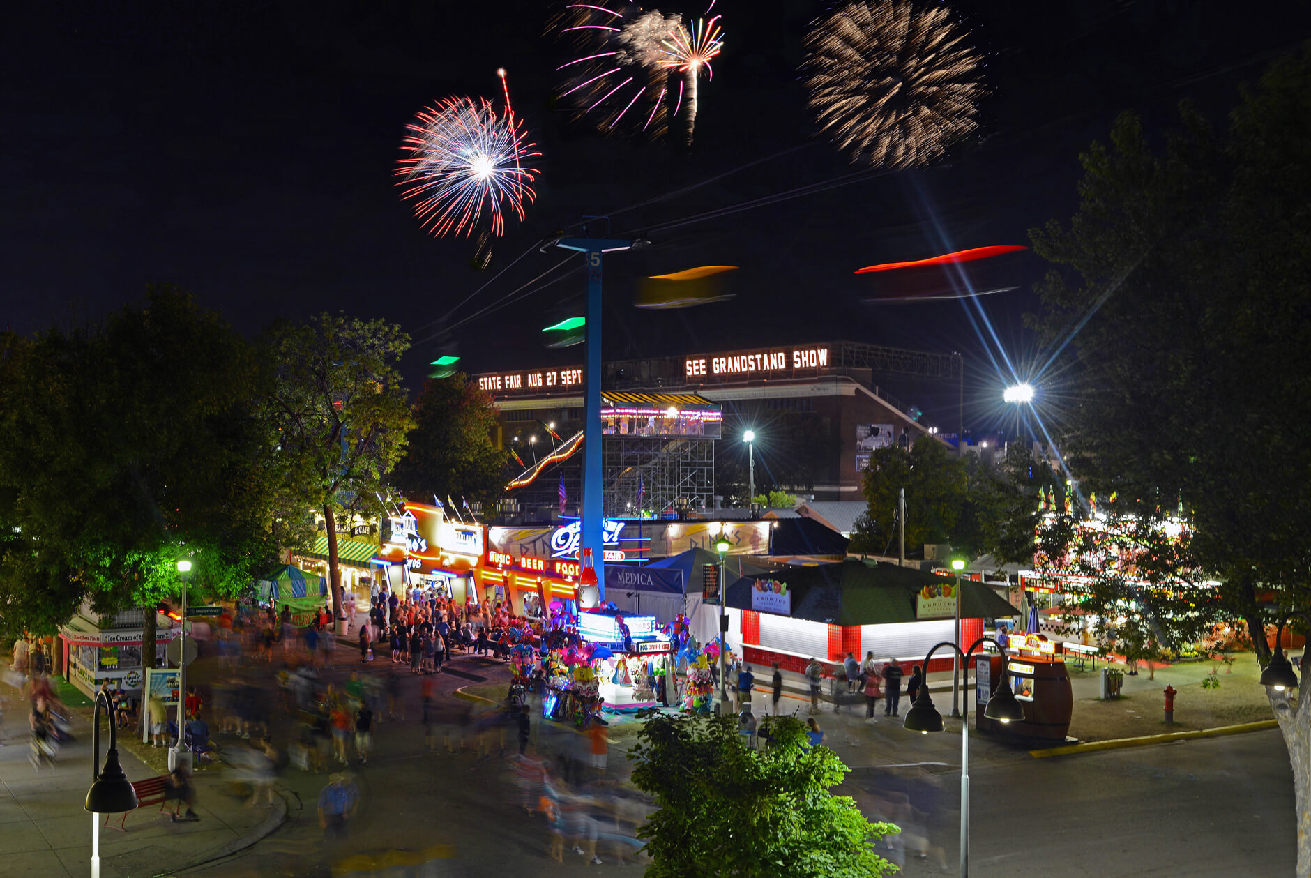 Entertainment Is The Minnesota State Fairs Middle Name