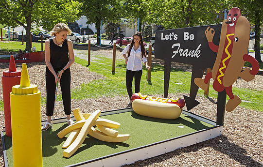 Artist Designed Mini Golf