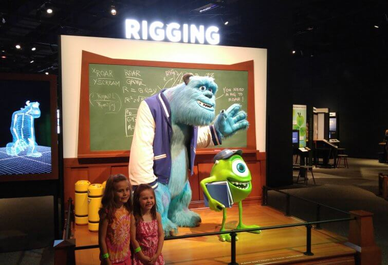 Mike & Sulley Rigging - Science Museum of Minnesota